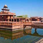 Voyage Inde Nord : Fatehpur Sikri Ville Fantôme