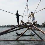 Voyage Inde Sud : Pecheurs Kochi Kerala