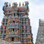 Voyage Inde Sud : Temple Meenakshi Madurai Tamil Nadu