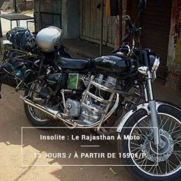 Voyage Inde Nord : Rajasthan Insolite Moto Royal Enfield