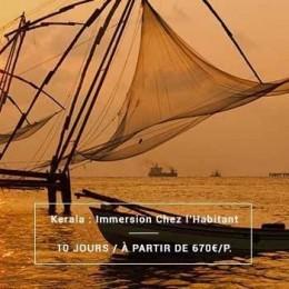 Voyage Inde Sud : Kerala Authentique