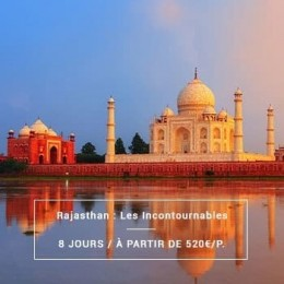 Voyage Inde Nord : Rajasthan Incontournables