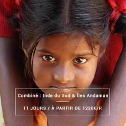 Voyage Inde Sud : Tamil Nadu & Îles Andaman