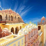 Travel India : Jaipur Rajasthan Hawa Mahal
