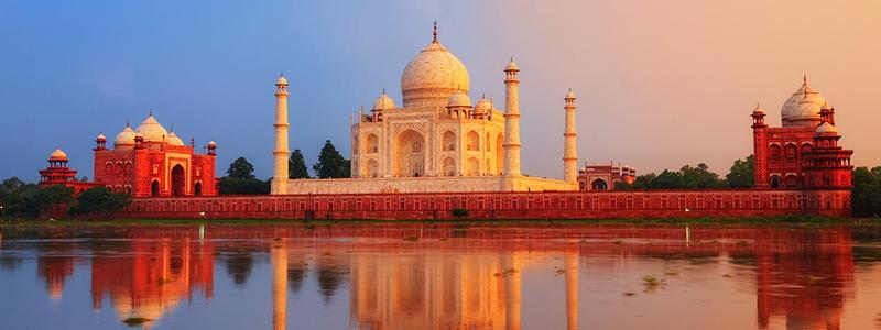 Voyage Inde Nord : Taj Mahal Agra Rajasthan