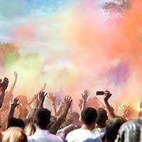 Indian Religion : Holi Festival