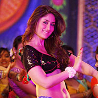 Woman dancing in a bollywood movie