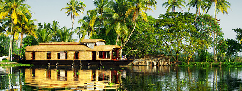 Voyage Inde Sud : Backwaters Kerala