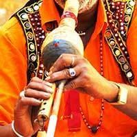 Indian Man Playing Music