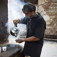 Chai Man in India