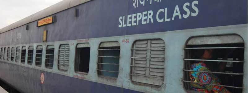 Voyage Inde : Train Inde Sleeper Class