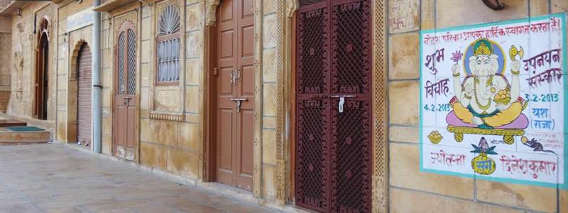 Voyage Inde Nord : Jaisalmer Rajasthan Ville Or