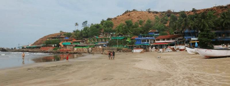 Voyage Goa Inde Sud : Plage Arambol