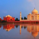 Trip India : Taj Mahal in Agra