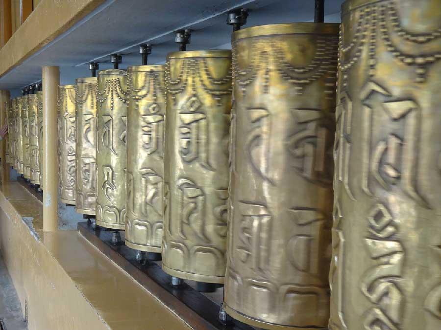 Voyage Inde : Temple Bouddhiste