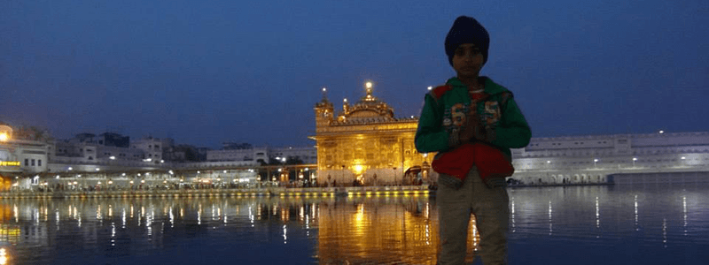 Voyage Inde Nord : Amritsar Temple d'Or Sikh