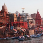 Travel in India : Varanasi Ganga River