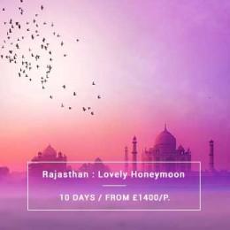 Travel North India : Rajasthan Honeymoon