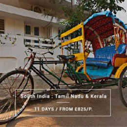 Travel South India : Tamil Nadu & Kerala