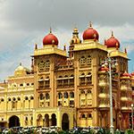 Voyage Inde Sud : Palais Maharaja Mysore Karnataka