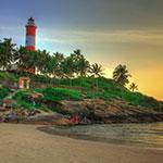 Voyage Inde Sud : Plage Kovalam Kerala