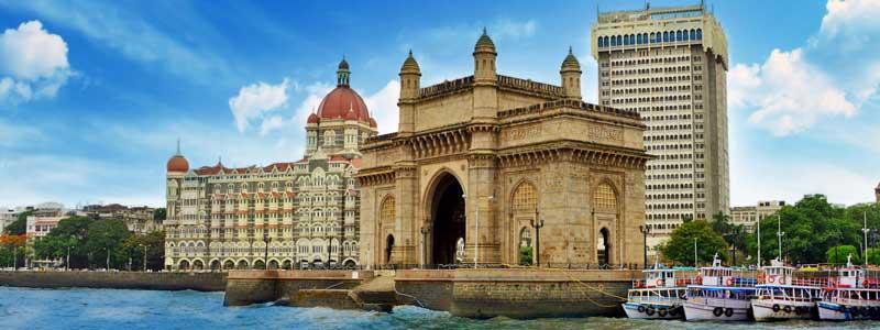 Mumbai découvrez l'u des plus beaux monument d'Ine, le Gateway of India