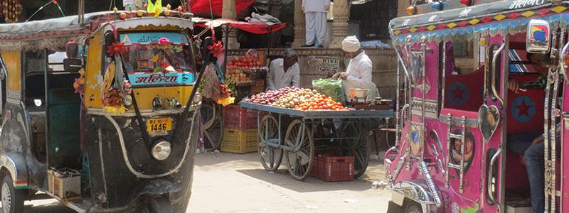 Voyage en Inde : Tuk Tuk