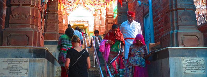 Voyage en Inde : Temple Hindou