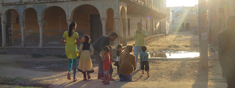 Voyage en Inde : Rue Jaipur