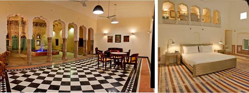 Voyage Inde : Hotel Vivaana Mandawa