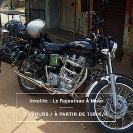 Voyage Rajasthan : À Moto