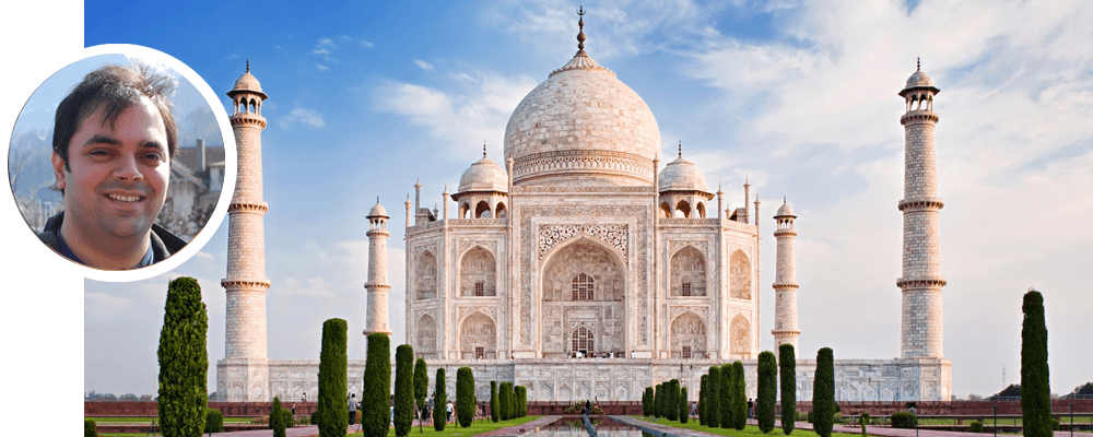 Saurabh : our local travel agent in India