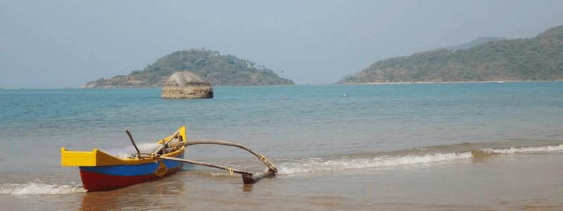 Voyage Inde Sud : Plage Goa Palolem