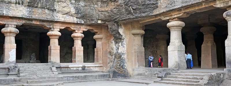 Inde: partez sur le site archéologique de l'ile elephanta (grotte creusé)